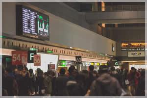 日本の海外旅行者数は年々増加傾向